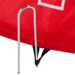 Voetbaldoeltje pop-up The Kage XL rood/wit - 135488