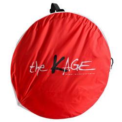 Voetbaldoeltje pop-up The Kage XL rood/wit - 135489