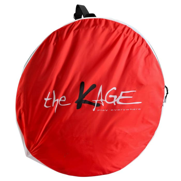 But de football auto-déployant The Kage XL rouge blanc - 135489