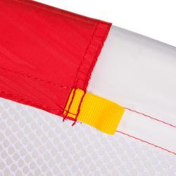 Voetbaldoeltje pop-up The Kage XL rood/wit - 135491