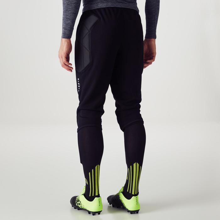 Torwarthose 3/4-lang Fußball F100 Erwachsene schwarz