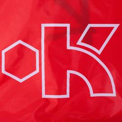 Voetbaldoeltje pop-up The Kage XL rood/wit - 135497