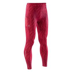 Laufhose lang Tights Run Dry Kinder Print rot