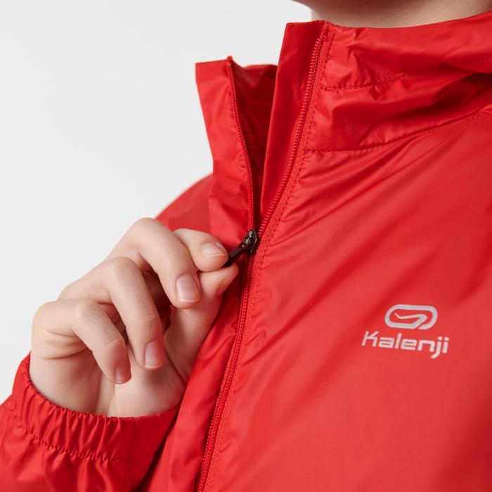 Windjacke Leichtathletik Club personalisierbar Kinder rot