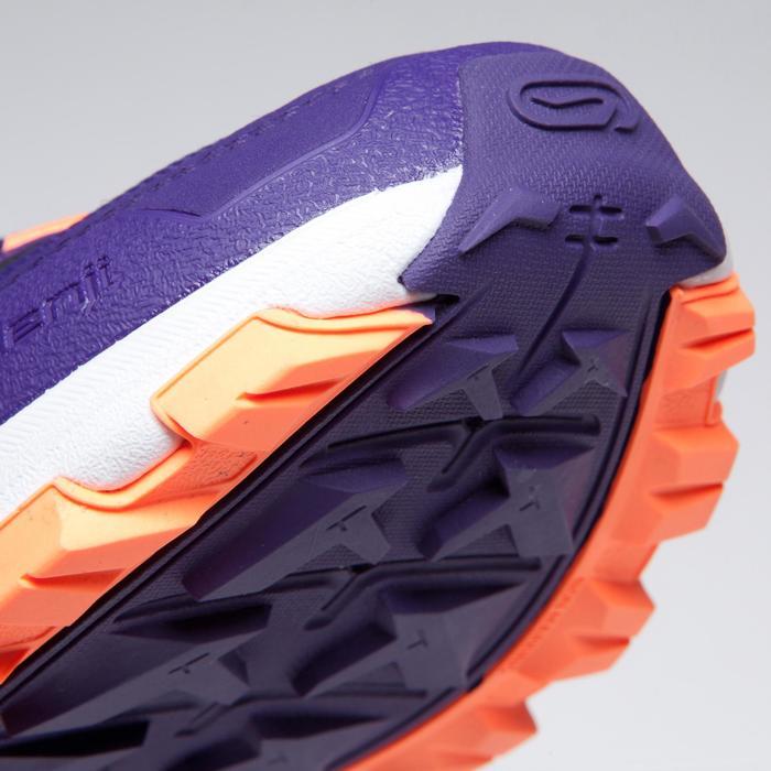 Atletiekschoenen voor kinderen Kiprun Grip paars koraal