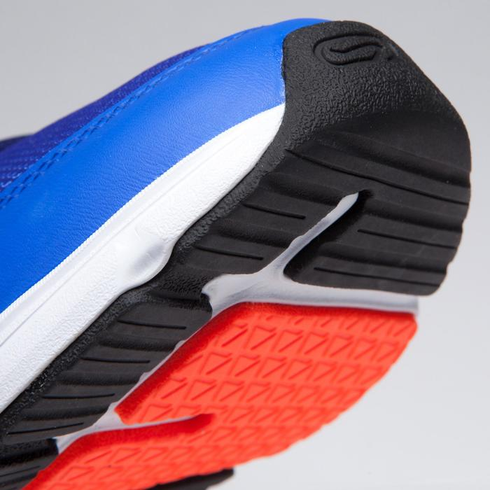 RUN SUPPORT CHILDREN'S ATHLETICS SHOES WITH LACES BLUE RED FLUO