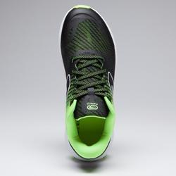 AT500 Kiprun Fast Athletics Shoes Black/Yellow – Kids