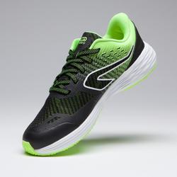 Zapatillas Running y Atletismo Kiprun Fast Niños Negro/Amarillo