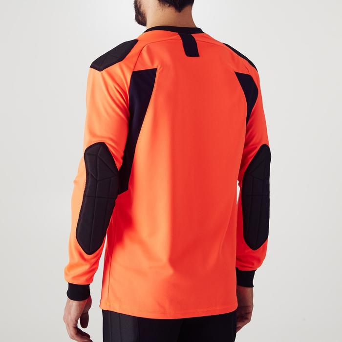 Keepersshirt voetbal volwassenen F100 oranje