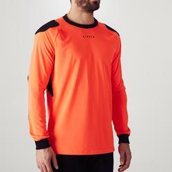Camiseta Portero Manga Larga Kipsta Fútbol FGKSLS100 Adulto Rojo