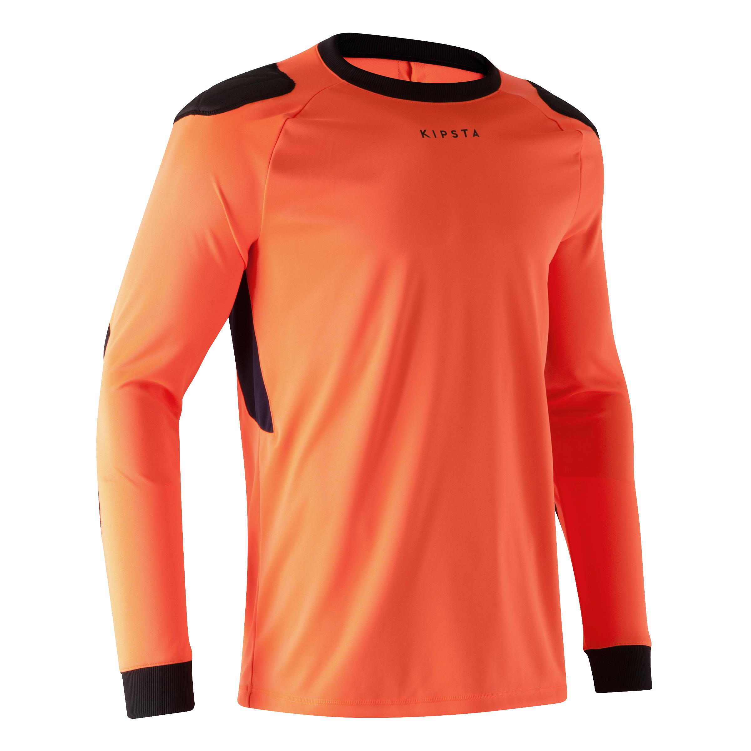 Kipsta Keepersshirt F100 voor volwassenen oranje
