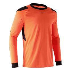 Camiseta de portero adulto F100 naranja