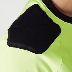 Keepersshirt voetbal volwassenen F100 geel