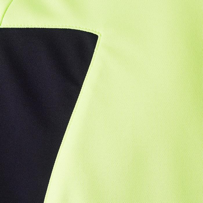 Camiseta Portero Manga Larga Kipsta Fútbol FGKSLS100 Adulto Amarillo
