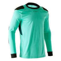 Camiseta de portero de fútbol adulto F100 verde