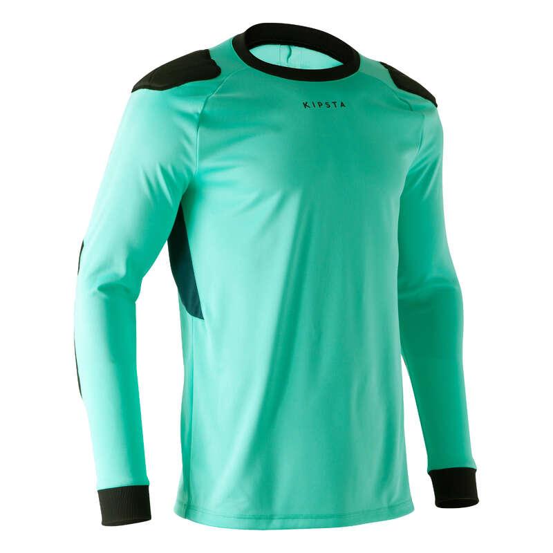 Portiere Calcio Sport di squadra - Maglia portiere F100 verde KIPSTA - Futsal