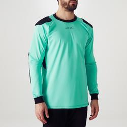 Camiseta Portero Manga Larga Kipsta Fútbol FGKSLS100 Adulto Verde