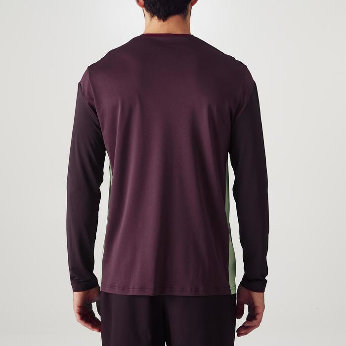 Camiseta Portero Manga Corta Fútbol Kipsta FGKSLS500 Adulto Morado