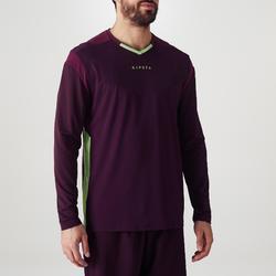 成人款守門員運動衫F500-紫色