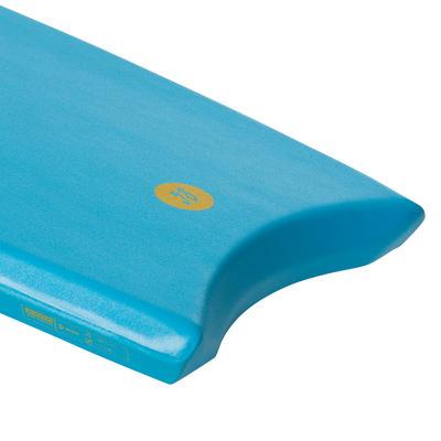 Bodyboard 100 turquoise 1m45-1m65 38_QUOTE_ avec semelle de glisse et leash