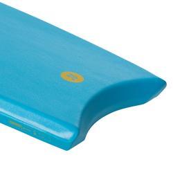 "Bodyboard 100 turquoise 1m45-1m65 38"" met slick en leash"