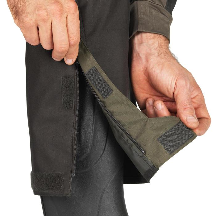 Sobrepantalón Caza Solognac SGC 500 Resistente Verde