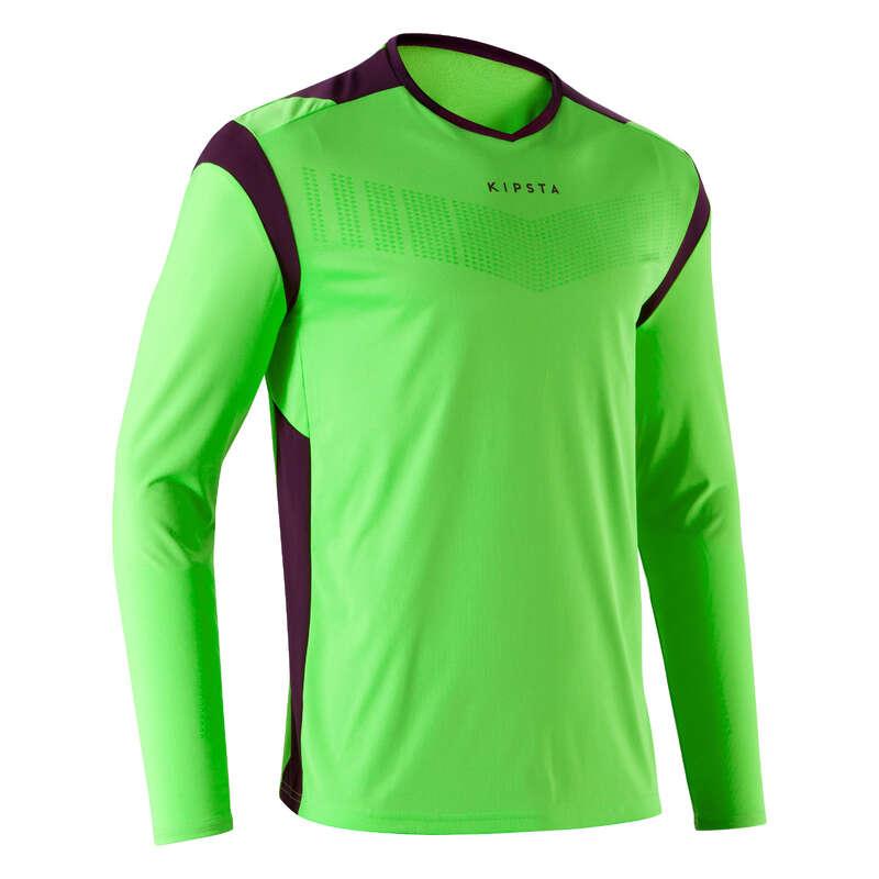 Portiere Calcio Sport di squadra - Maglia portiere F500 verde KIPSTA - Futsal