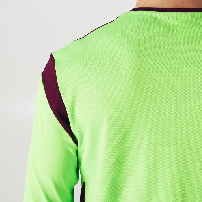 Camiseta Portero Manga Corta Fútbol Kipsta FGKSLS500 Adulto Verde