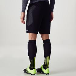 Pantalón corto portero adulto F100 negro