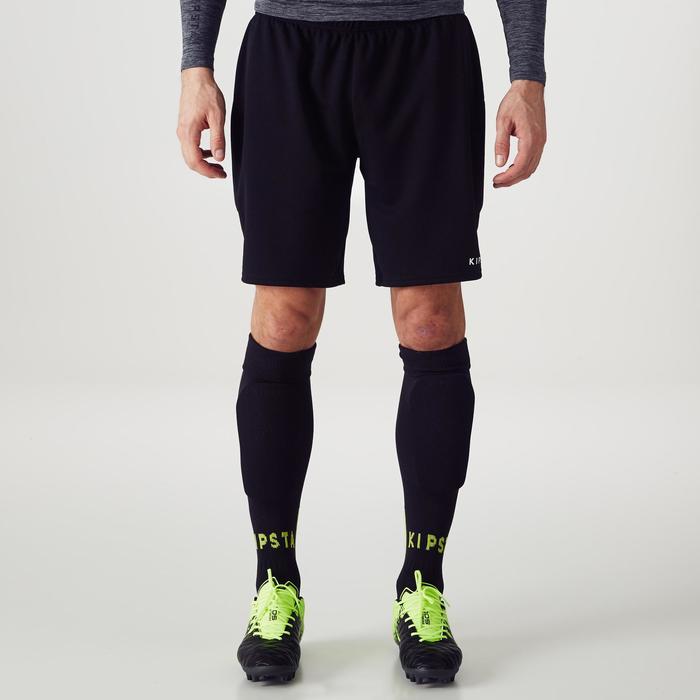 Keepersshort voetbal volwassenen F100 zwart