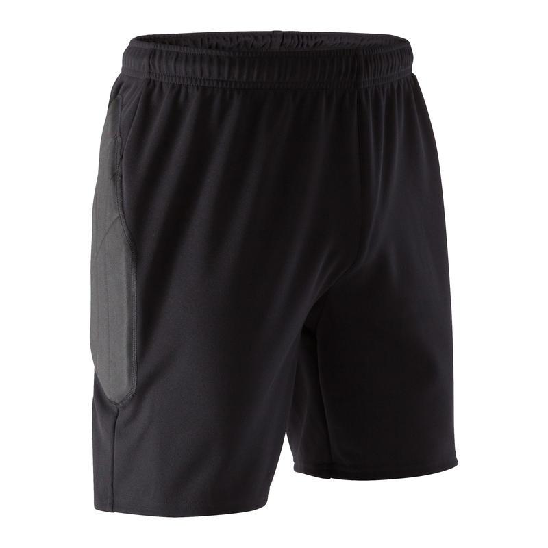 Adult Goalkeeper Shorts F100 - Black