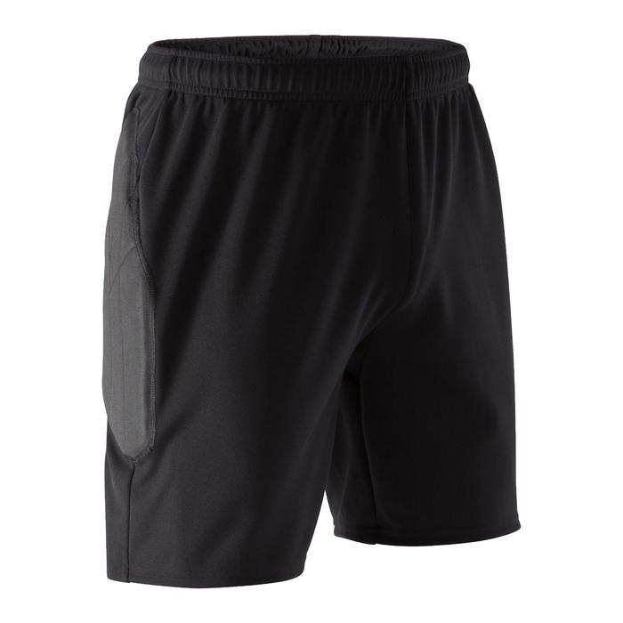 Pantalón Corto Portero Kipsta FGKS100 Adulto Negro