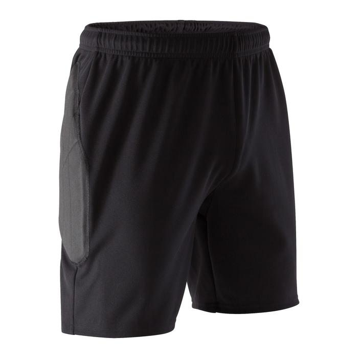 Short gardien de but adulte F100 noir