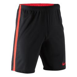 Short de football adulte Academy noir rouge