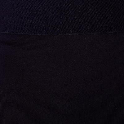 بنطلون كرة قدم keepdry 100 جيد للتهوية للكبار – أسود بخطوط فاتحة خلف الركبة