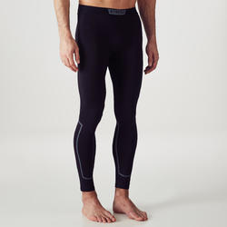 Men's Football Tights Keepdry 100 - Black
