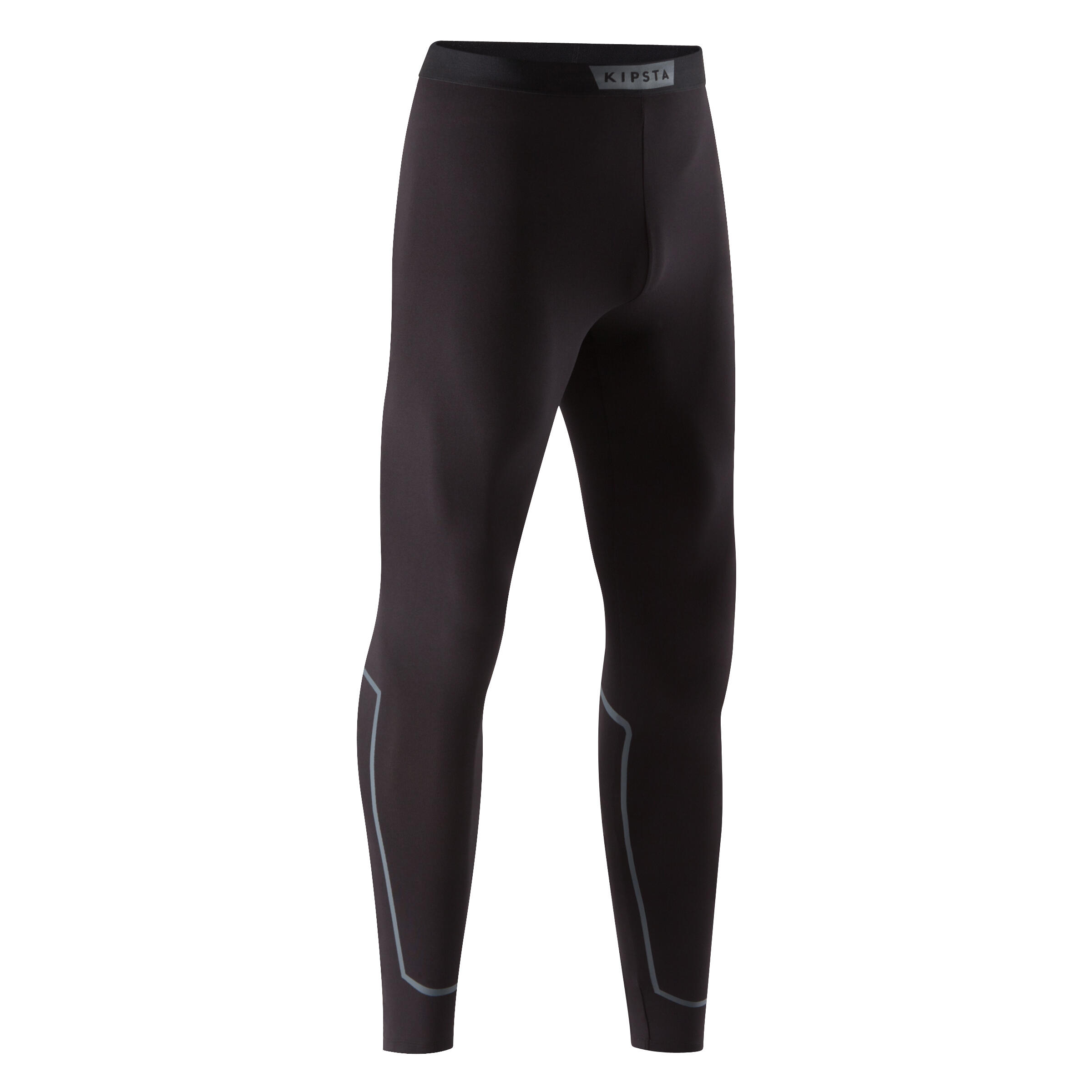 Keepdry 100 Adult Breathable Tights - Black with Calf Highlight