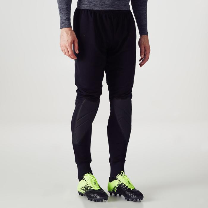Pantalon de gardien de but F100 noir - 1355416