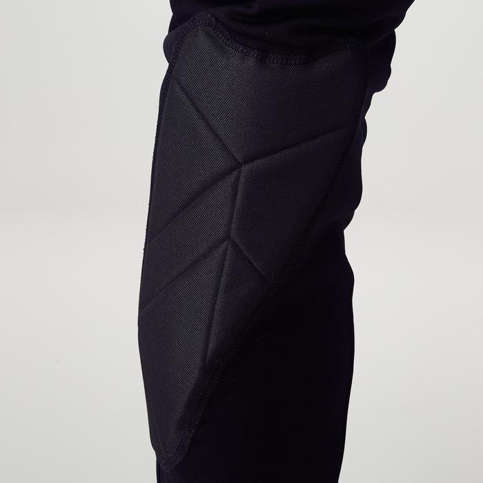 Torwarthose lang F100 Erwachsene schwarz