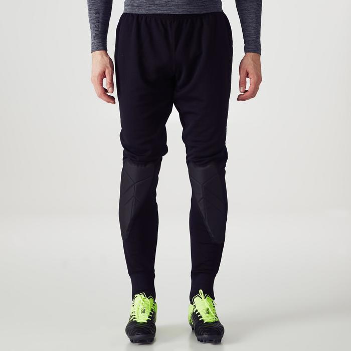 Pantalon de gardien de but F100 noir - 1355420