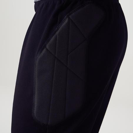 Pantalon de gardien de but F100 noir - Adulte