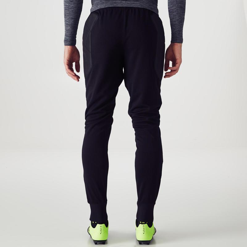Pantalon de gardien de but adulte F100 noir