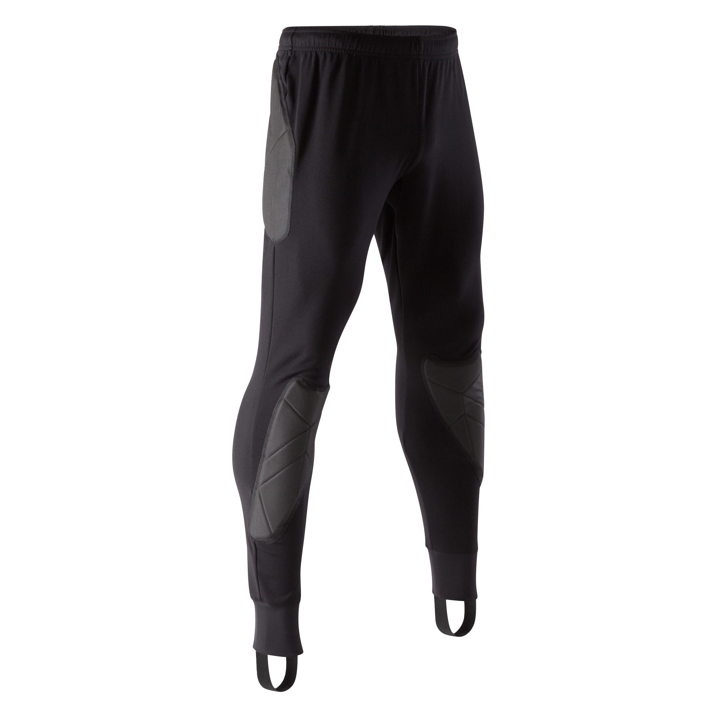 Kipsta Keepersbroek F100 zwart