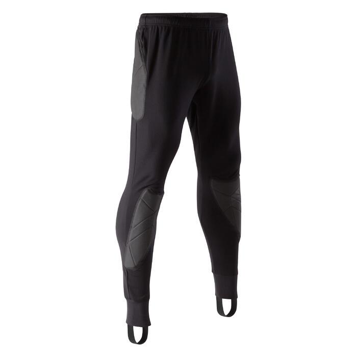 Pantalón Largo Portero Kipsta FGKT100 Adulto Negro