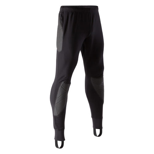 PANTALON GARDIEN DE BUT F100 ADULTE NOIR