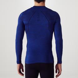 Prenda interior adulto Keepdry 500 azul chiné oscuro