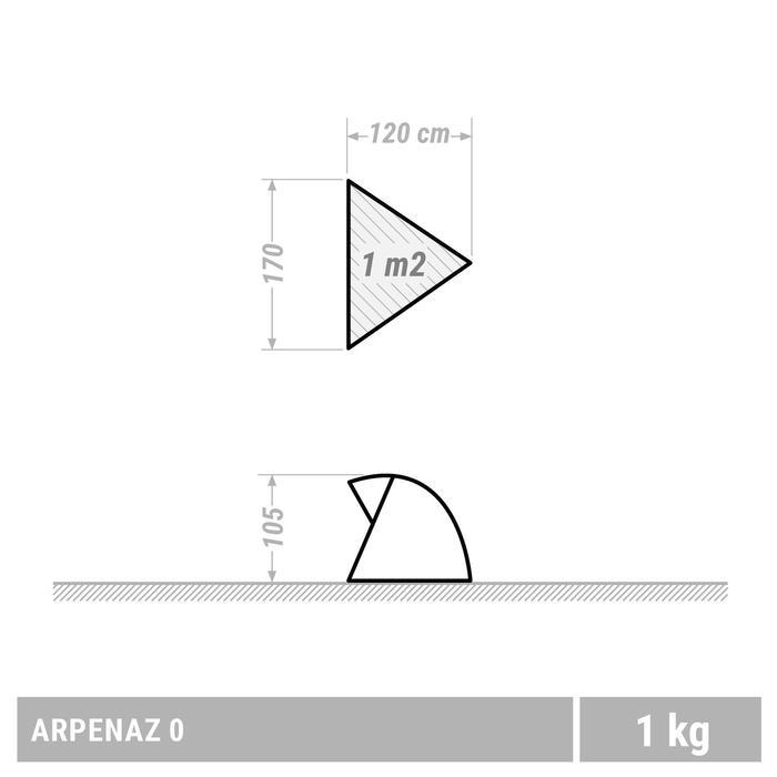 ABRI RANDONNEE NATURE  ARPENAZ0  UPF 30 - 1355455