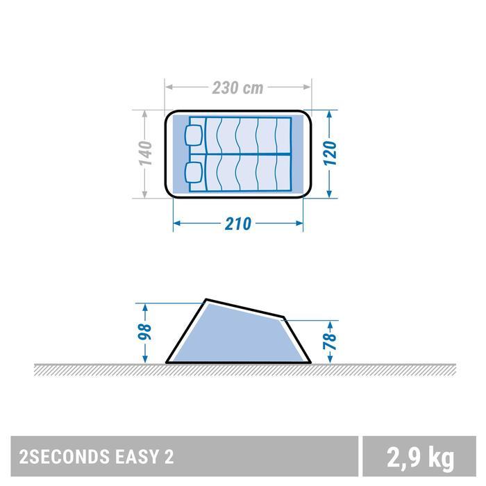 Tente de camping 2 SECONDS | 2 personnes - 1355456