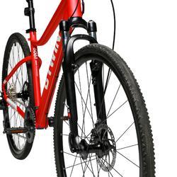 Riverside 500 Hybrid Bike - White / Red