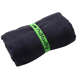 微纖維毛巾L號藍色
